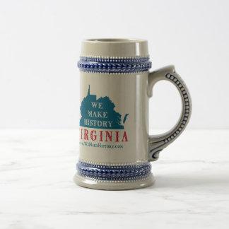 We Make History Virginia Coffee Mug