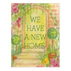 We Moved - New Home Announcement Postcard