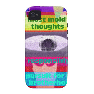 We must mold our thoughts and responsibly iPhone 4/4S covers