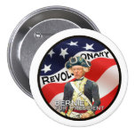 """""""We need a political revolution"""" 7.5 Cm Round Badge"""