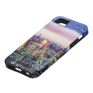 -WE OWN THE CITY- TOUGH iPhone 5 CASE