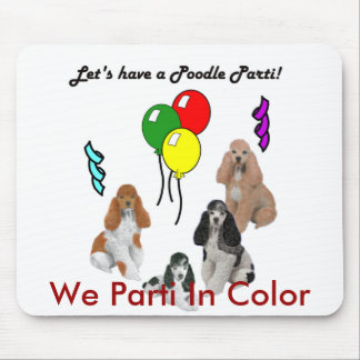 We Parti In Color Mousepad