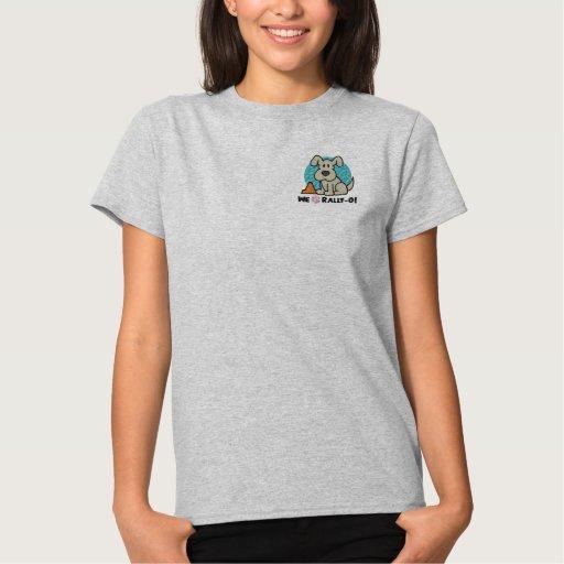 We Paw Rally-O Embroidered Shirts