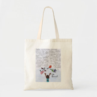 We Persist Tote Bag