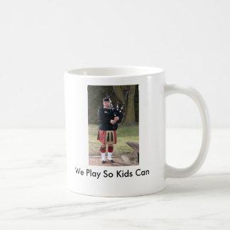 We Play So Kids Can Basic White Mug