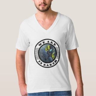 we plows in earth T-Shirt