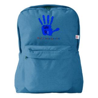 We R1 Blue Hand Backpack