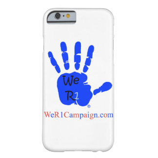 We R1 Blue Hand Phone Case