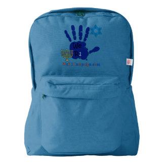 We R1 Hanukkan Hand Backpack