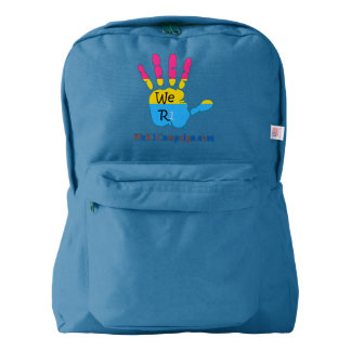 We R1 Pansexual Hand Backpack