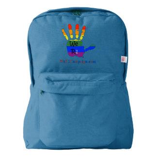 We R1 Rainbow Hand Backpack