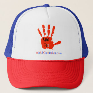 We R1 Red Hand Hat