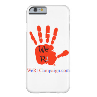 We R1 Red Hand Phone Case