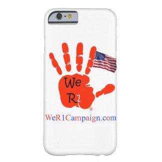 We R1 USA Flag Hand Phone Case