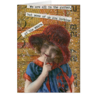 We re all in the gutter greeting cards