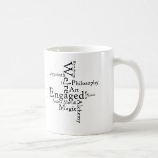 We re Engaged coffee mug