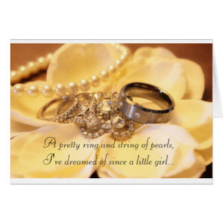 We re engaged greeting card