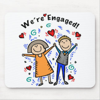 We re Engaged II Mouse Mat
