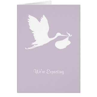 We re Expecting Card