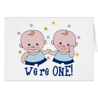We re One Boys Card