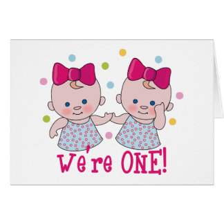 We re One Girls Card
