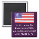 We Recognise No Sovereign but God, and no King but Magnets