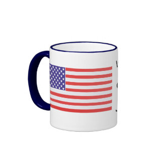 We Recognize No Sovereign but God, and no King but Ringer Coffee Mug