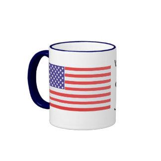 We Recognize No Sovereign but God, and no King but Ringer Mug