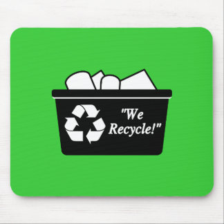 We Recycle Mousepads