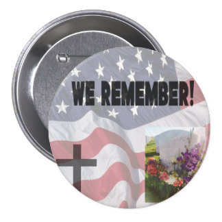 """We Remember"" Buttons"