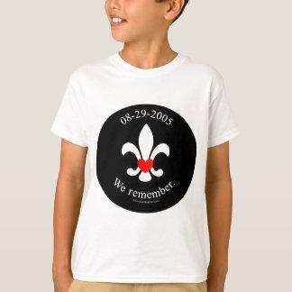 We remember tee shirt