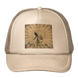We Rock Mesh Hats