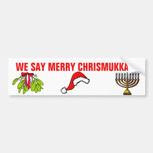 We Say Merry Chrismukkah!