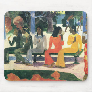 We Shall Not Go to the Market Today - Paul Gauguin Mouse Pad