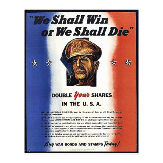 We Shall Win Or We Shall Die Custom Flyer