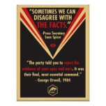 We Should Not Disagree With The Facts Poster