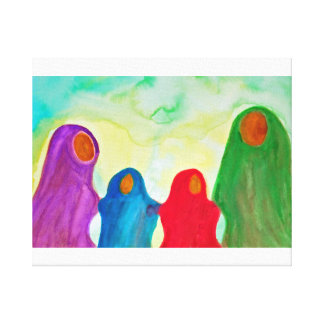 We Stay Together Panel Stretched Canvas Prints