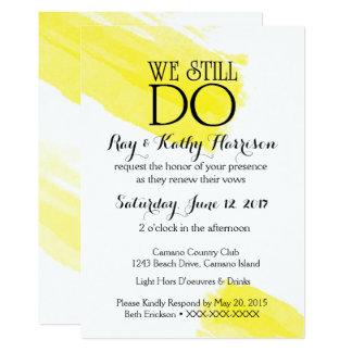 We Still Do Wedding Anniversary Invite
