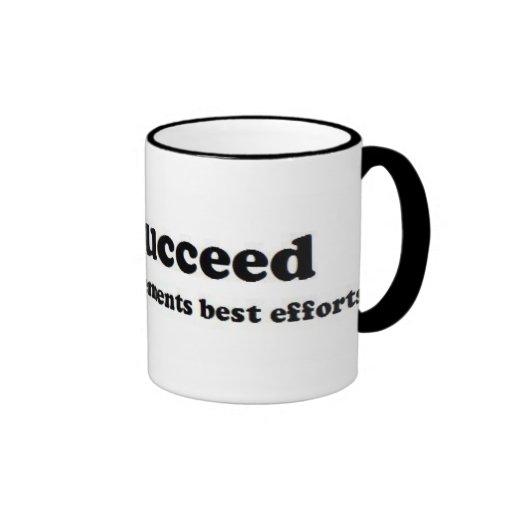 We Succeed Coffee Mug
