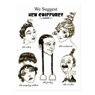 We Suggest New Coiffures Postcard