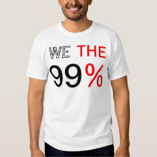 WE THE 99% SHIRT