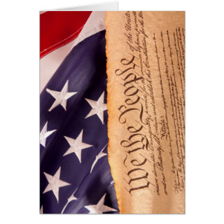 We the people 1 greeting card