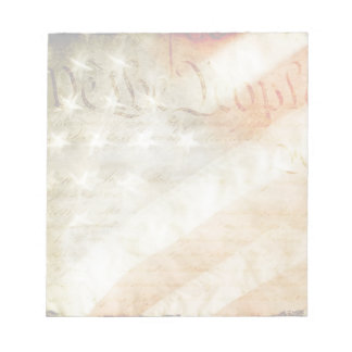 We the People American Flag Notepad
