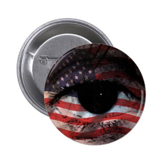 WE THE PEOPLE ARE WATCHING YOU! 6 CM ROUND BADGE