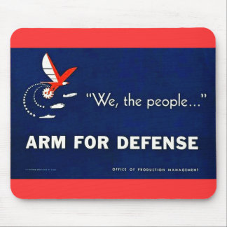 We the People Arm for Defense Mouse Mat