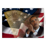 We the People...Barack Obama & the Constitution Greeting Card