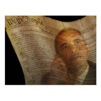 We the People...Barack Obama & the Constitution Postcard
