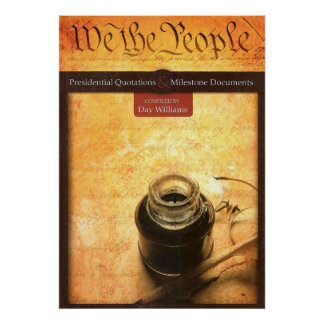 We the People Book Cover Poster