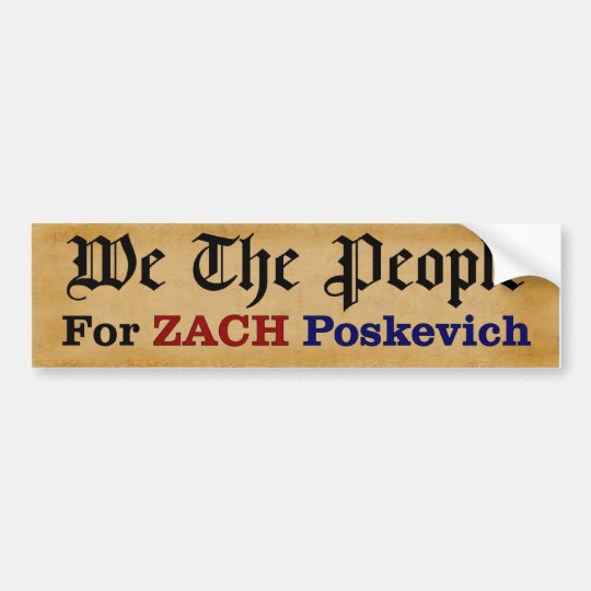 We the People - Bumper Sticker