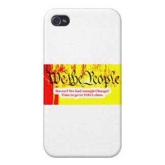 We The People Change YOGA The MUSEUM Zazzle Gifts iPhone 4 Cover